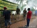 Koramil 0815/03 Sooko Bersama Tiga Pilar Aksi Bersih Bersih Sampah