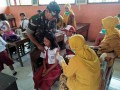 Koramil 0815/10 Bangsal Kawal Layanan ORI Difteri Di Lima Desa