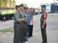 Danrem 082/CPYJ Pimpin Apel Kesiapan Pengamanan Kunker Presiden RI-1 di Lamongan