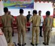 Danramil 0815/18 Gondang Saksikan Pelantikan Perangkat Desa Padi