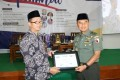 Kasdam V/Brawijaya Menghadiri Seminar Nasional Di Ponpes Tebu Ireng Jombang