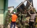 Dua Desa dari 23 Rumah dan Perkantoran Rusak di terjang Angin Puting Beliung di Kec. Glagah Kab. Lamongan