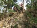 Saka Wira Kartika Koramil 0815/08 Dawarblandong   Digembleng Pelatihan Tanggap Bencana