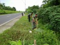 Koramil 0814/09 Kudu Wujudkan Kawasan Hijau