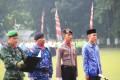 Upacara Gabungan TNI, POLRI,dan KORPRI Lingkup Pemkab Jombang