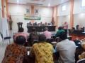 Dukung Program Kesehatan, Danramil 0815/19 Magersari Ikuti Pertemuan Lintas Sektor