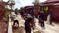 Kebersamaan TNI dan Rakyat semakin Solid dalam Pra TMMD Kodim 0812Lamongan