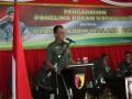 Kunker Pangdam V Brawijaya di Kodim 0812 Lamongan, Tekankan Netralitas Dan Sinergitas