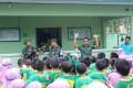 Siswa Siswi MI Unggulan Sabililah Serbu Markas TNI untuk Belajar Kemiliteran