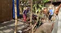 Koramil 0815/11 Pungging Renovasi Rumah Tidak Layak Huni Bagi Warga Binaan