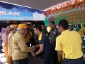 Kodim 0814 Jombang Bersama Bupati Jombang Beri Santunan Dan Sembako Kepada Veteran, Warakauri Dan Masyarakat