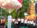 Pangdam V/Brawijaya Lepas Puluhan Ribu Peserta Run 10K HJK Di Pendopo Agung Trowulan