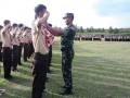 Babinsa Koramil 0811/11 Kenduruan Gembleng Anggota Saka Wira Kartika