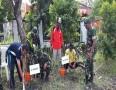 Sinergitas TNI-Polri Dalam Gerakan Penanaman Pohon