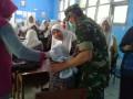 Pelaksaanan Imunisasi Ori Difteri Di Mantup Mendapat Dukungan Dari Koramil