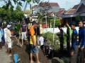Pramuka Saka Wira Kartika Koramil 0814/01 Kota Ikut Bongkar Gorong-Gorong