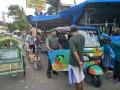 Babinsa Kebonsari  Sosialisasikan Kendaraan  Roda Tiga Ramah Lingkungan