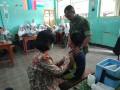 Koramil 09 Mojosari Bantu Pelaksanaan ORI Difteri Di SMP Islam Terpadu Mambaul Ulum