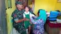 Dinas Kesehatan Bersama Babinsa Kedungpring Galang Imunisasi Di Sekolah Dan Masyarakat