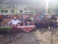 Danramil 0815/04 Bersama Forpimka Puri Hadiri Kompetisi Drumband & Pengobatan Gratis