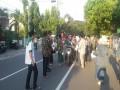 PC NU Kediri Bersama Kodim Kediri Bagikan 2.000 Paket Takjil