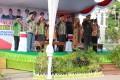 Dandim 0811 Tuban Bacakan Sambutan Menkominfo  Saat Pimpin Upacara Harkitnas