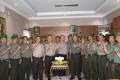 Kodim Kediri Menyerbu Polresta Dan Polres Kediri Di HUT Bhayangkara Ke-72