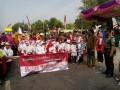Forpimka Kutorejo Berangkatkan Karnaval Peringati HUT Kemerdekaan