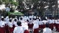 SIMOKOS Koramil 0815/11 Pungging Ajarkan Wawasan Kebangsaan Sejak Dini