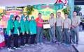 Danrem 082/CPYJ, Terima Donasi Untuk Korban Bencana Sulawesi tengah.