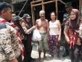 Saka Wira Kartika Ranting Koramil 0813-14 Tambakrejo Menggelar Bakti Sosial